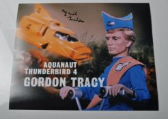 "THUNDERBIRDS - DAVID GRAHAM - AUTOGRAPHED 8X10"" PHOTOGRAPH"