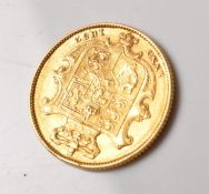 1832 WILLIAM IV GOLD SOVEREIGN COIN