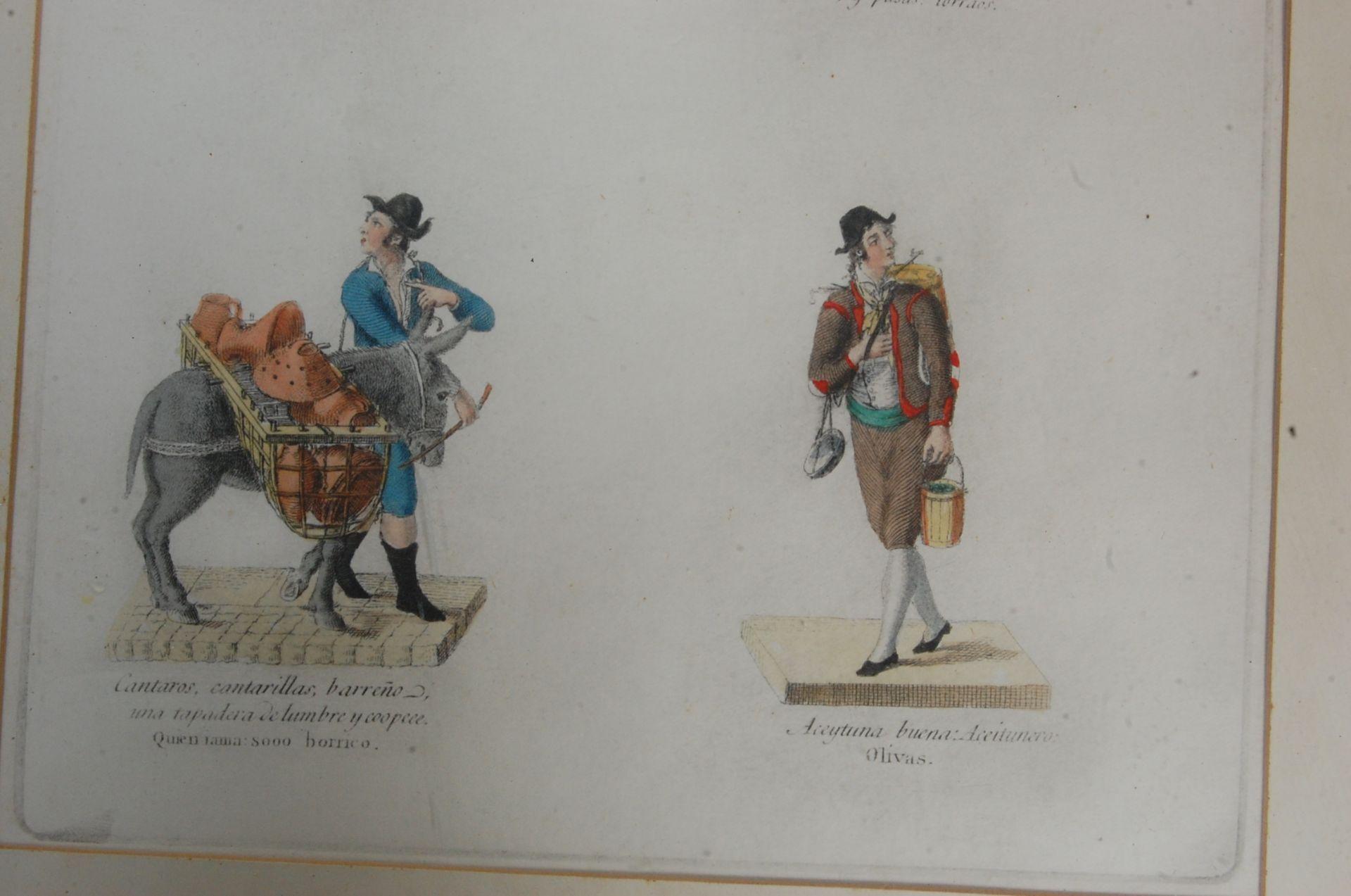 ANTIQUE 19TH CENTURY LITHOGRAPHS PEINTS / ETCHING PLATES - Bild 9 aus 16