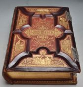 19TH CENTURY AMERICAN ILLUSTRATED HOLY BIBLE DICTIONARY