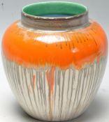 EARLY 20TH CENTURY 1930S ART DECO SHELLEY HARMONY WARE GINGER JAR