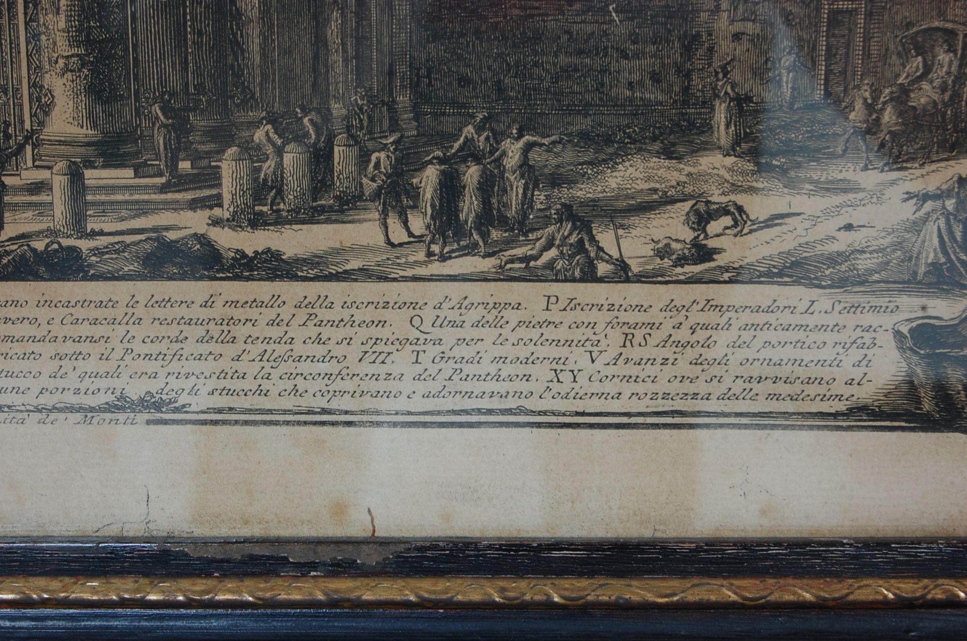 PANTHEON D'AGRIPPA AFTER GIOVANNI BATTISTA PIRANESI - Bild 8 aus 11