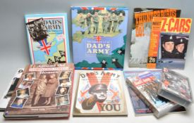 DADS ARMY / TELEVISION HISTORY - COLLECTION OF BOOKS
