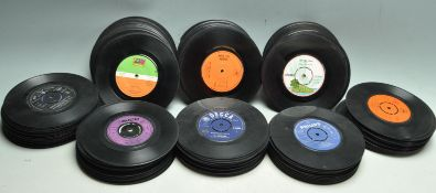 COLLECTION OF APPROX 150 VINTAGE VINYL 45RPM 7INCH SINGLES