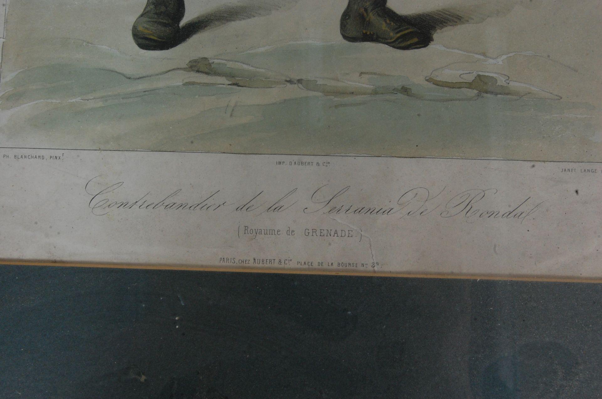 ANTIQUE 19TH CENTURY LITHOGRAPHS PEINTS / ETCHING PLATES - Bild 4 aus 16
