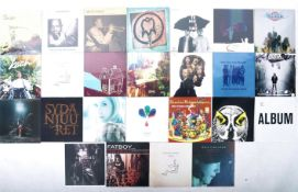 EUROPEAN ROCK / ALTERNATIVE / PSYCHEDELIC / INDIE - GROUP OF 25 NEW AND SEALED ALBUMS