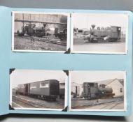 VINTAGE 1960S TRAINSPOTTERS PHOTO ALBUM