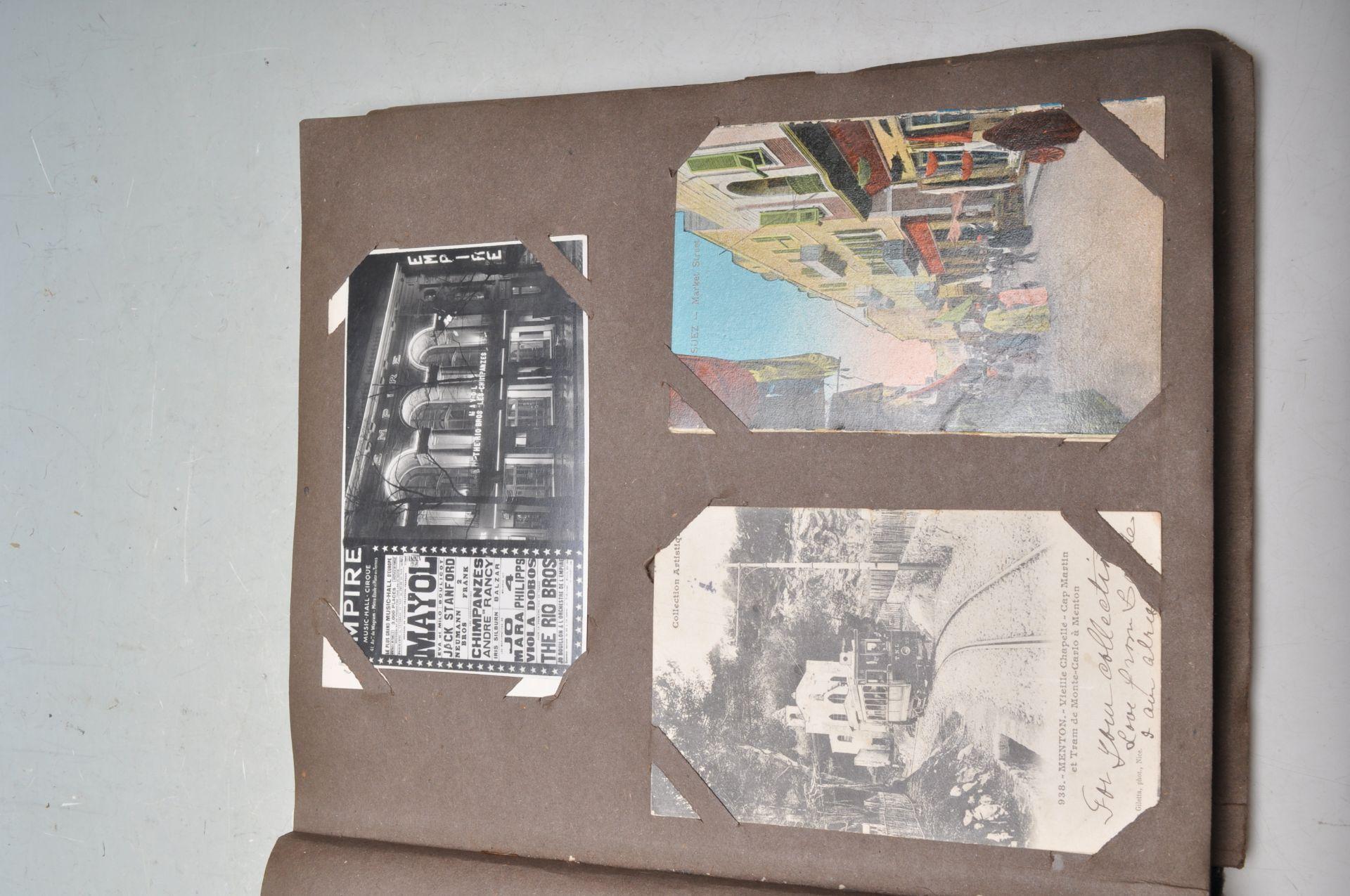 ALBUM OF FOREIGN POSTCARDS - ALL CIRCA WW1 PERIOD - Bild 6 aus 23