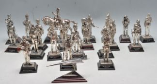 LARGE QUANTITY OF ROYAL HAMPSHIRE ART FOUNDRY PEWTER FIGURINES