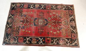 20TH CENTURY MIDDLE EASTERN PERSIAN LILIHAN RUG