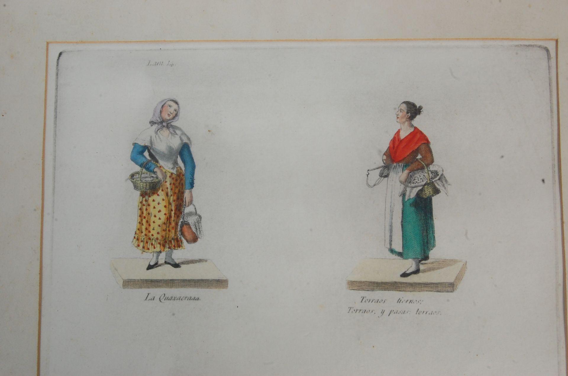 ANTIQUE 19TH CENTURY LITHOGRAPHS PEINTS / ETCHING PLATES - Bild 8 aus 16