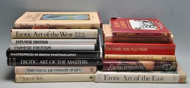 LARGE COLLECTION OF 20TH CENTURY EROTIC BOOKS