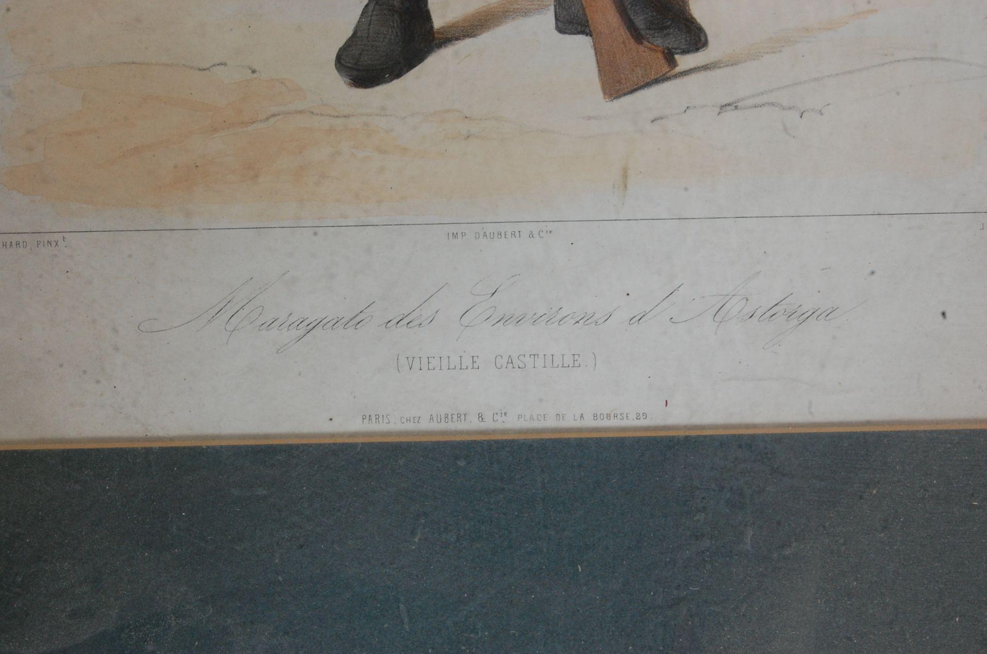 ANTIQUE 19TH CENTURY LITHOGRAPHS PEINTS / ETCHING PLATES - Bild 6 aus 16