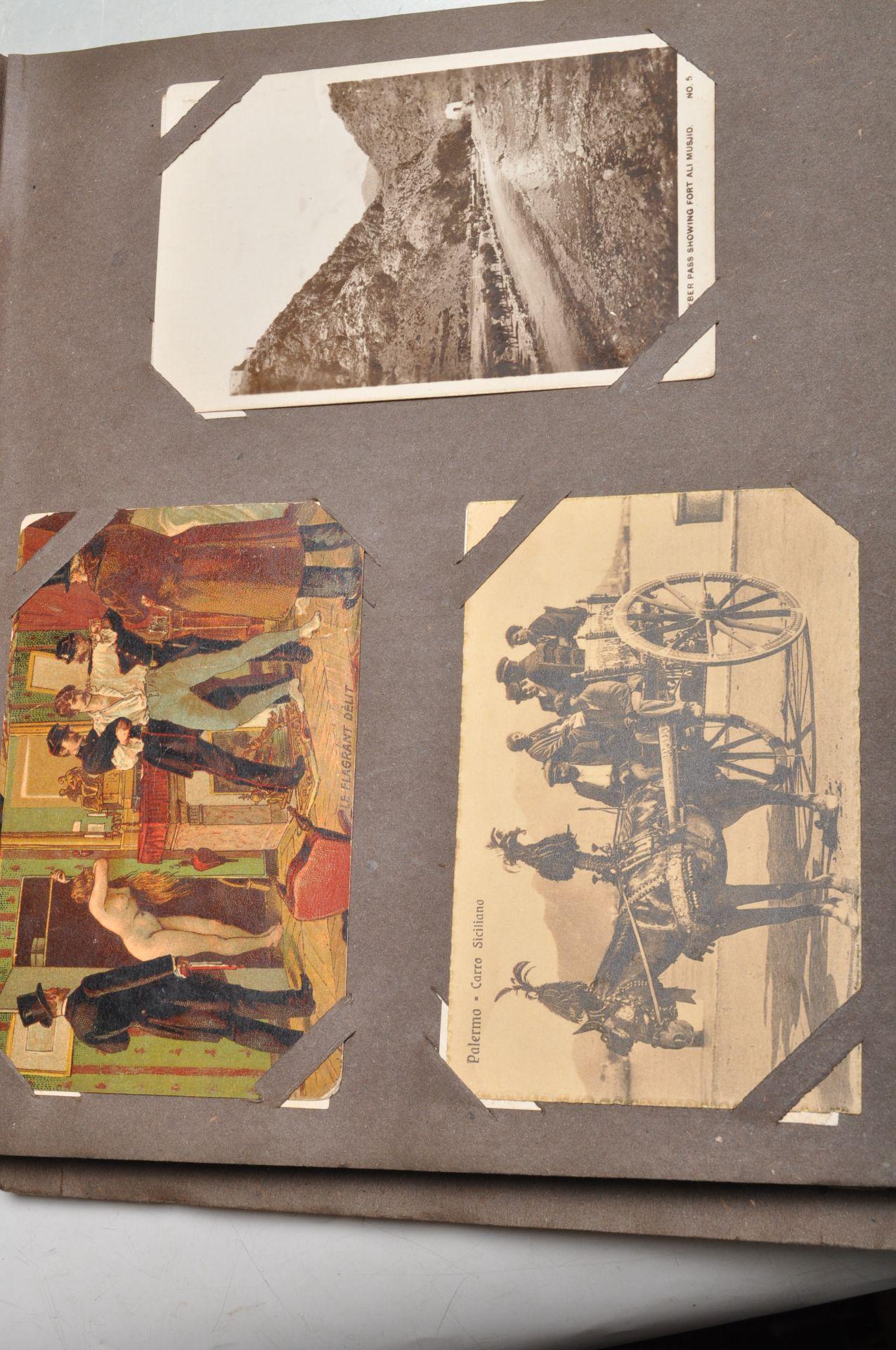 ALBUM OF FOREIGN POSTCARDS - ALL CIRCA WW1 PERIOD - Bild 16 aus 23