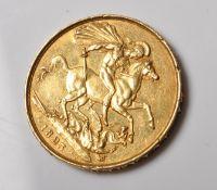GEORGIAN 1823 GOLD DOUBLE SOVEREIGN COIN