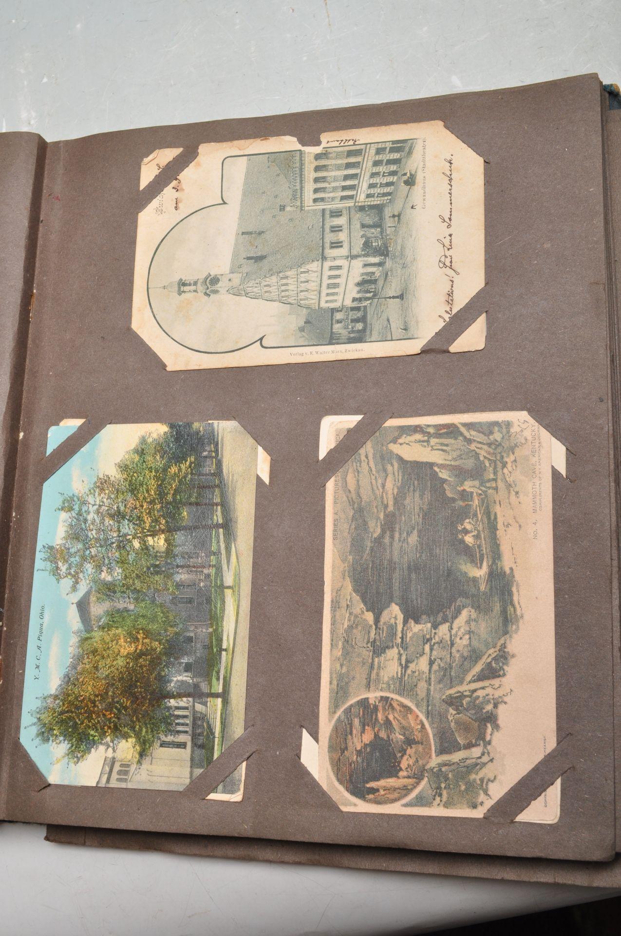 ALBUM OF FOREIGN POSTCARDS - ALL CIRCA WW1 PERIOD - Bild 13 aus 23