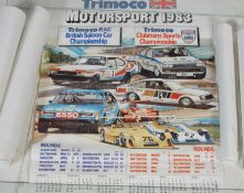 GROUP OF SPORTS CAR & RACING POSTERS