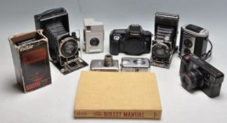 COLLECTION OF EARLY 20TH CENTURY AND LATER CAMERAS