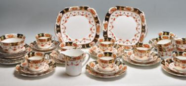 20TH CENTURY TWELVE PERSON WELLINGTON TEA SET
