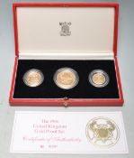 1986 UNITED KINGDOM GOLD PROOF COIN COLLECTION