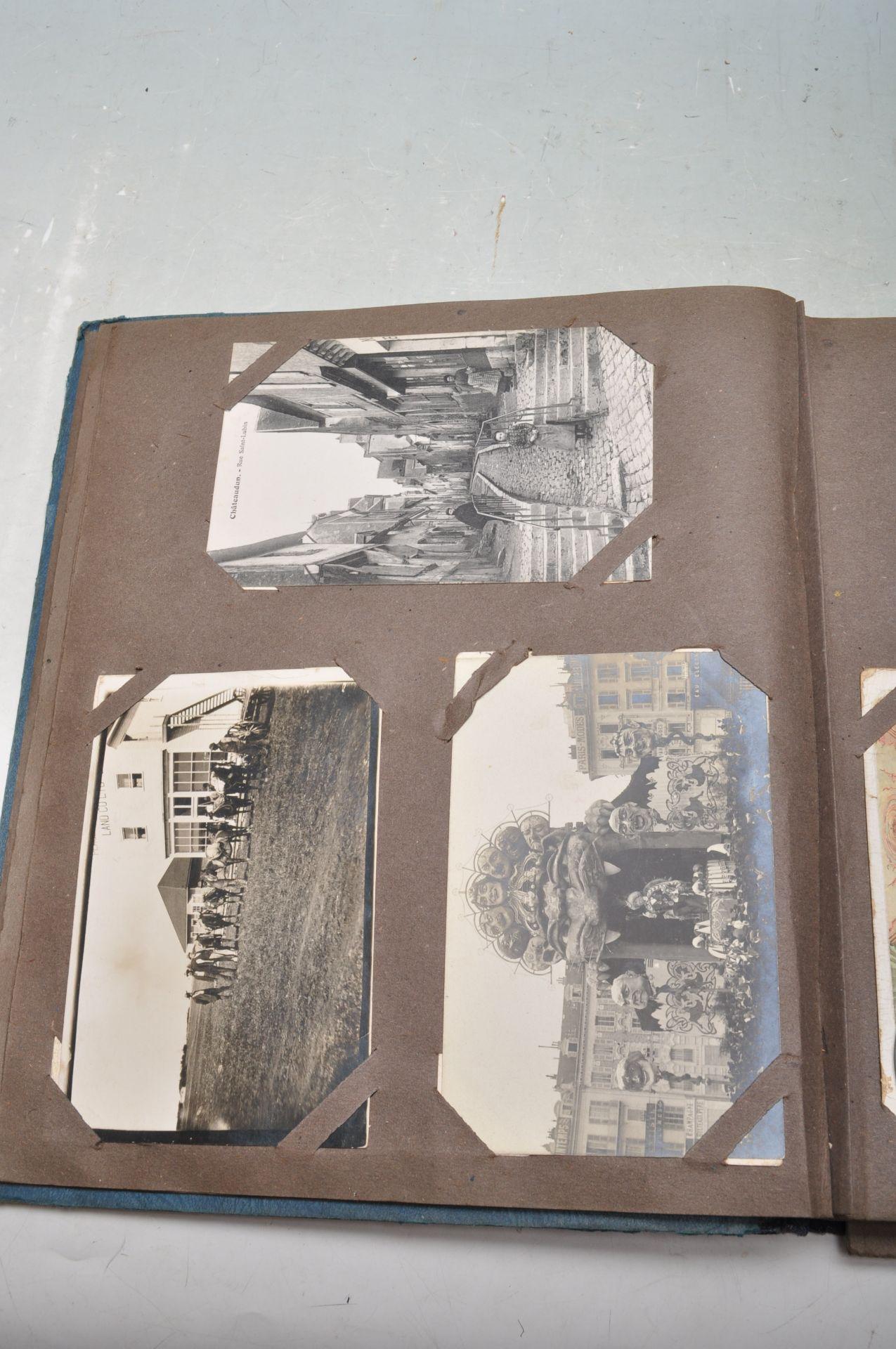 ALBUM OF FOREIGN POSTCARDS - ALL CIRCA WW1 PERIOD - Bild 7 aus 23