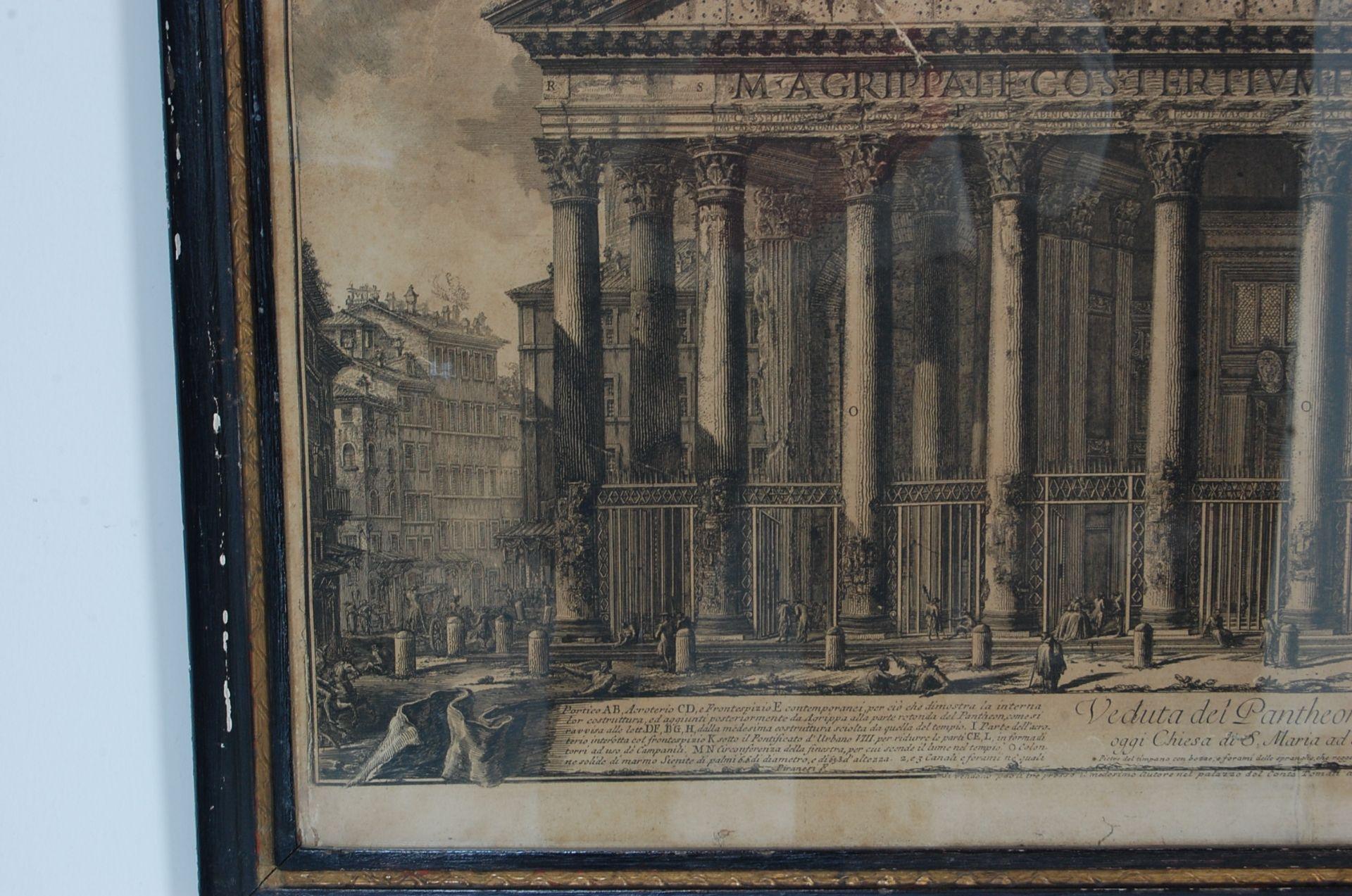 PANTHEON D'AGRIPPA AFTER GIOVANNI BATTISTA PIRANESI - Bild 3 aus 11