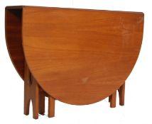 G PLAN FRESCO RANGE - RETRO VINTAGE G PLAN DROP LEAF DINING TABLE
