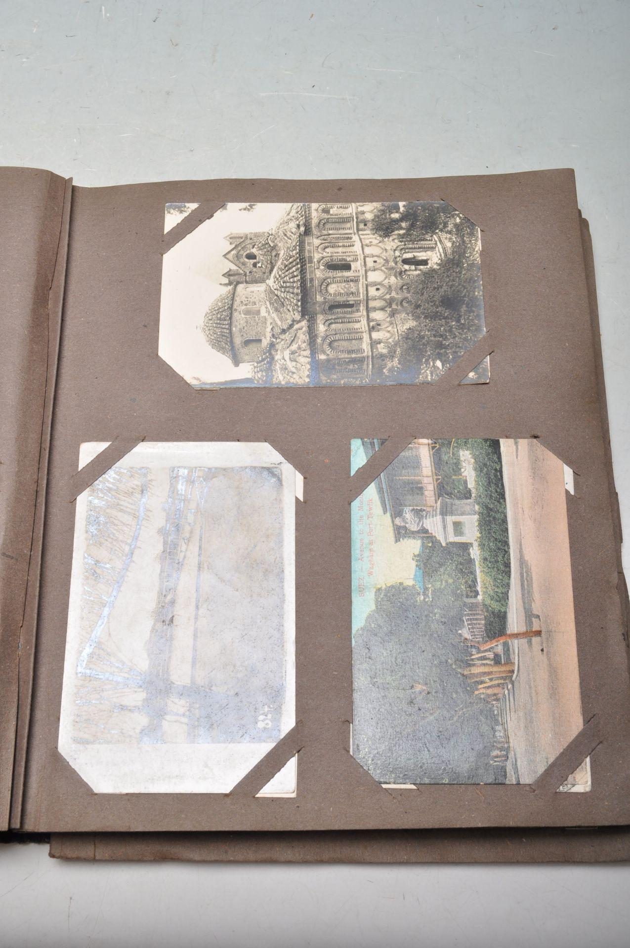 ALBUM OF FOREIGN POSTCARDS - ALL CIRCA WW1 PERIOD - Bild 11 aus 23