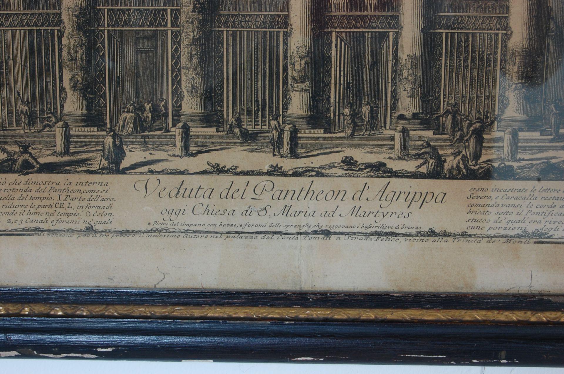 PANTHEON D'AGRIPPA AFTER GIOVANNI BATTISTA PIRANESI - Bild 6 aus 11