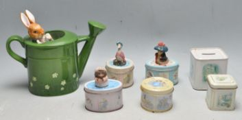 COLLECTION OF 20TH CENTURY TIN METAL NOVELTY BOXES