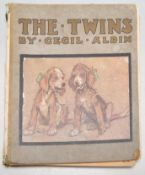 CECIL ALDIN - THE TWINS - FIRST EDITION HARDCOVER