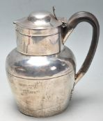 ANTIQUE ATKIN BROTHERS SILVER HOT WATER JUG