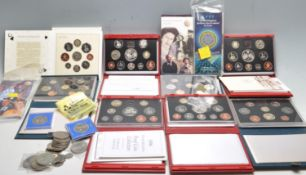 LARGE COLLECTION OF ROYAL MINT PROOF COINS