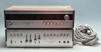 1970'S SONY STACKING SYSTEM ST-5055L / TA-1055