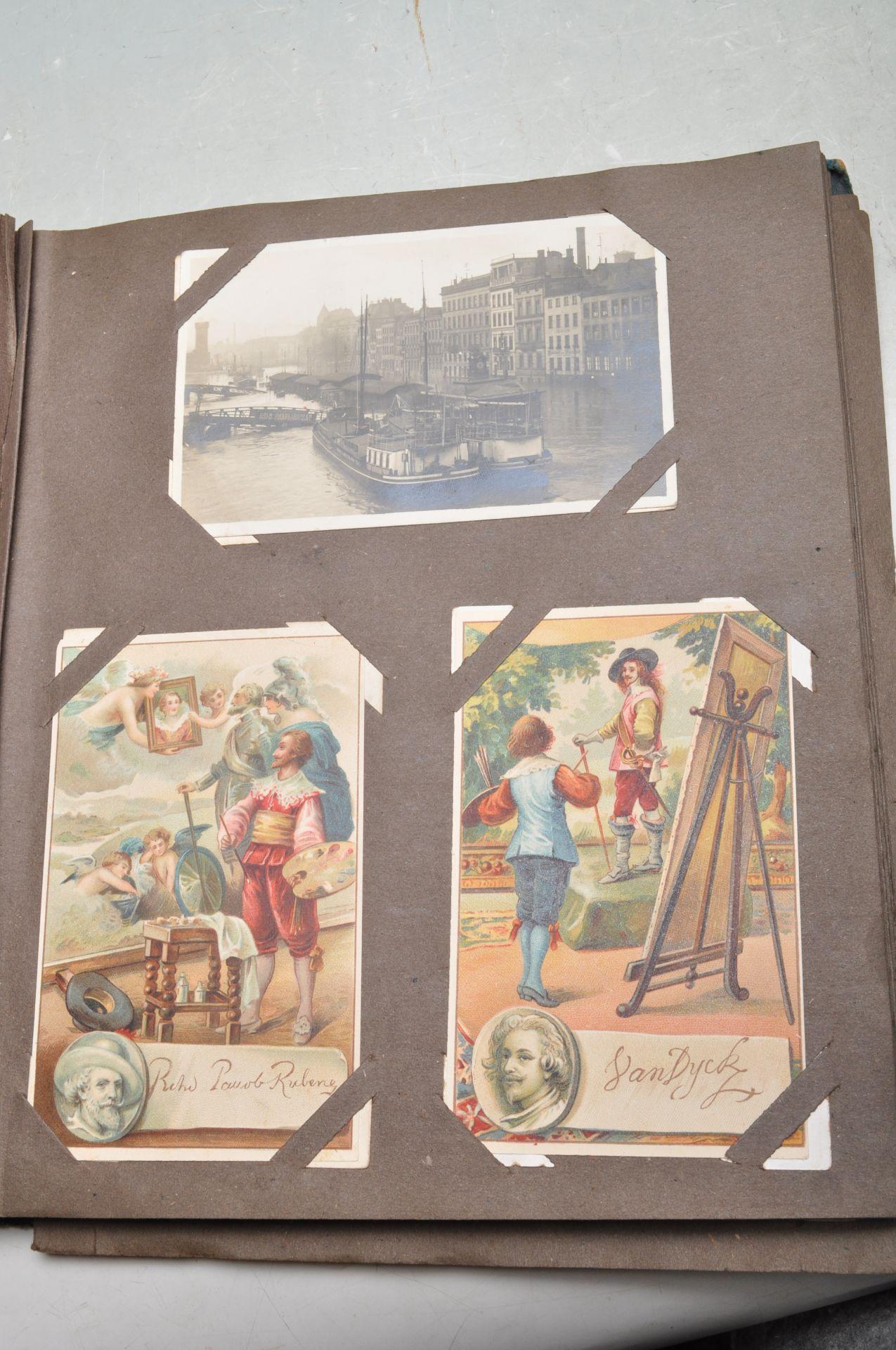 ALBUM OF FOREIGN POSTCARDS - ALL CIRCA WW1 PERIOD - Bild 18 aus 23
