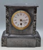 ANTIQUE VICTORIAN 19TH CENTURY MANTEL CLOCK