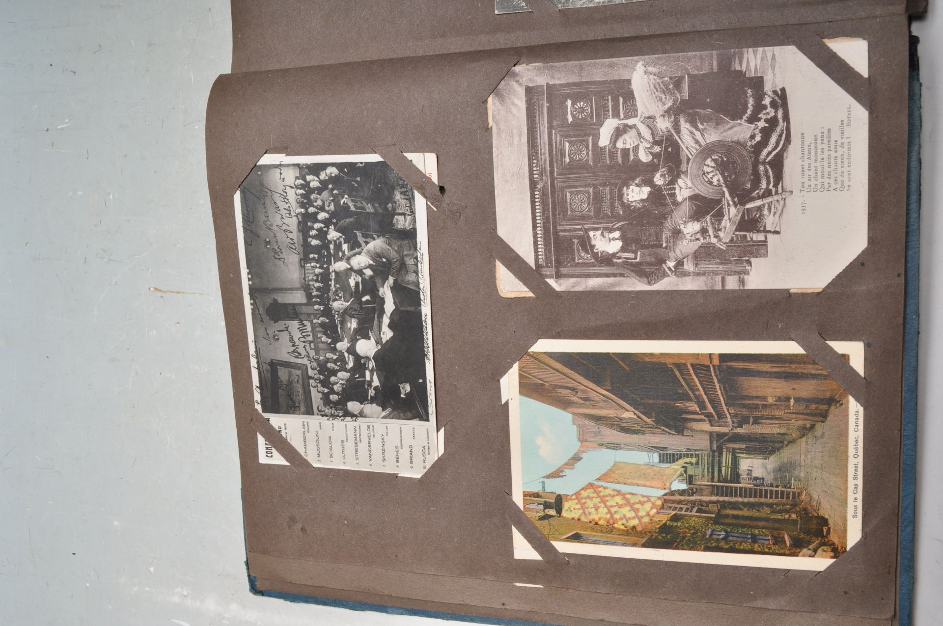 ALBUM OF FOREIGN POSTCARDS - ALL CIRCA WW1 PERIOD - Bild 5 aus 23