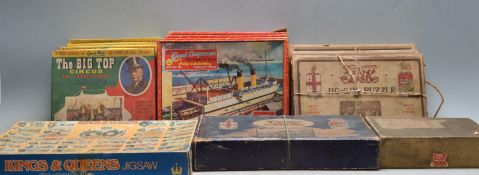 LARGE COLLECTION OF 1930'S AND LATER JIG-SAW PUZZLES
