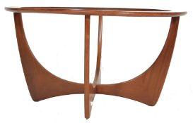 RETRO VINTAGE 1960S TEAK WOOD ATOMIC COFFEE TABLE