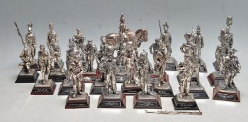 LARGE QUANTITY OF ROYAL HAMPSHIRE ART FOUDRY MILITARY FIGURINES