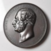 RARE COPPER MEDAL FROM THE ROYAL PHOTOGRAPGIC SOCIETY OF GREAT BRITAIN
