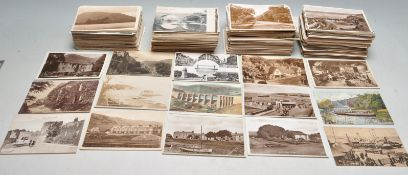 LARGE COLLECTION OF OLD BRITISH PICTURE POSTCARDS