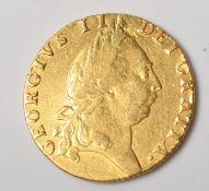 1792 GEORGIAN GOLD SPADE GUINEA COIN
