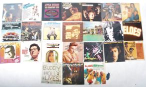 ROCK 'N' ROLL / ROCKABILLY / POP - GROUP OF 24 VINYL RECORD ALBUMS