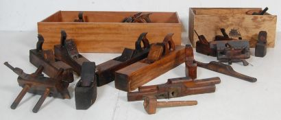 LARGE COLLECTION OFVINTAGE WOODWORKING TOOLS