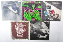 HORSLIPS - GROUP OF FIVE VINYL RECORD ALBUMS