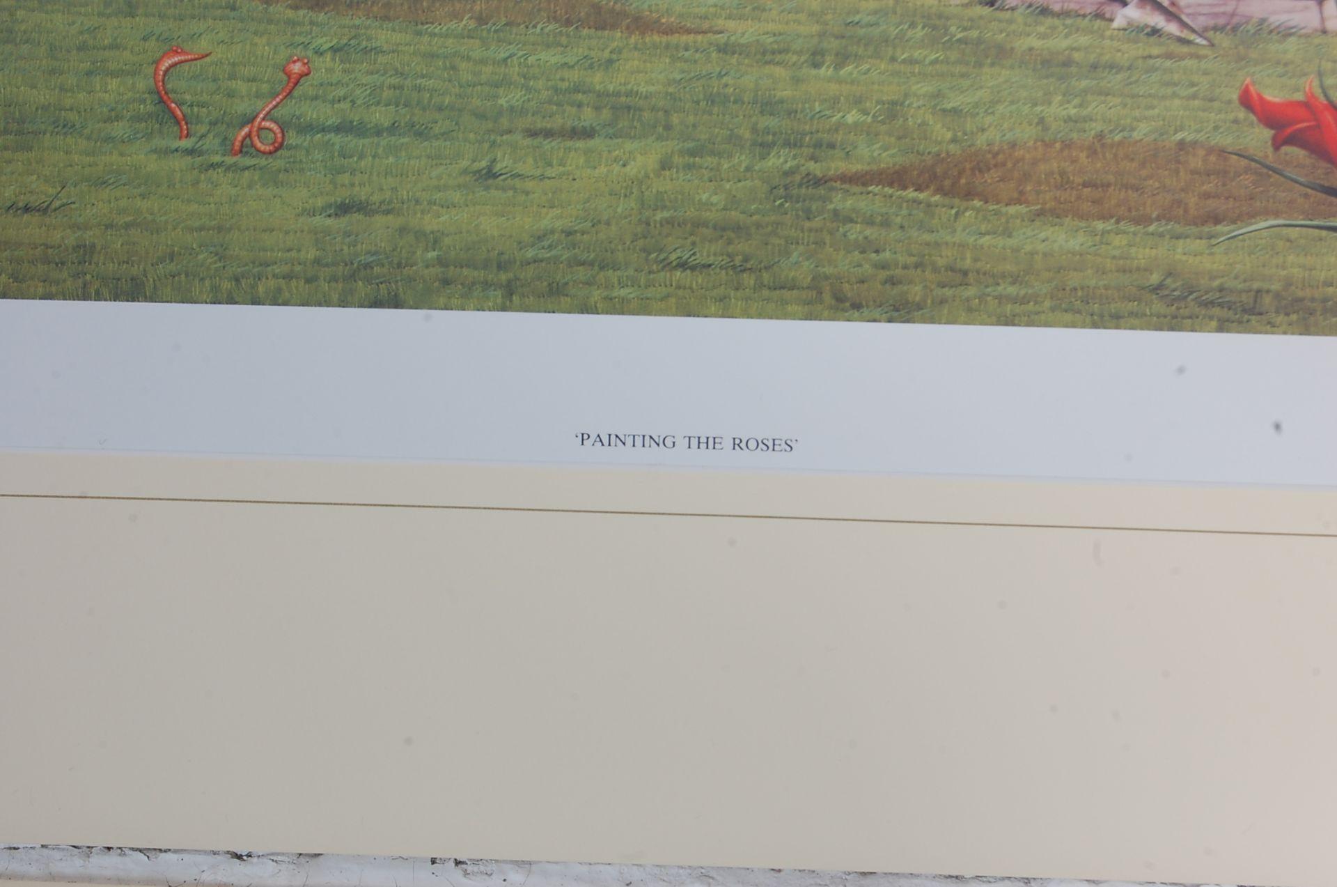 AFTER RODNEY MATTHEWS - FOUR LIMITED EDITION ALICE AND WONDERLAND SIGNED - Bild 12 aus 13