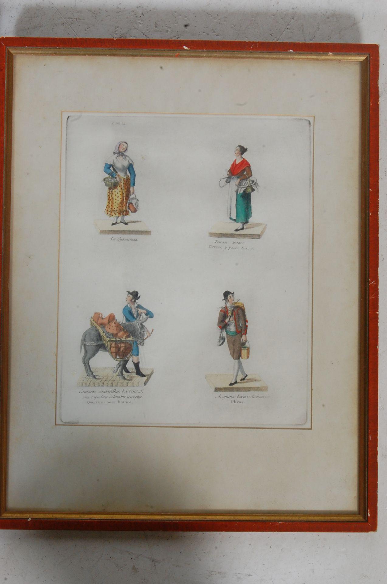 ANTIQUE 19TH CENTURY LITHOGRAPHS PEINTS / ETCHING PLATES - Bild 7 aus 16