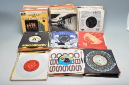 "COLLECTION OF VINTAGE VINYL 7"" 45RPM SINGLE RECORDS"