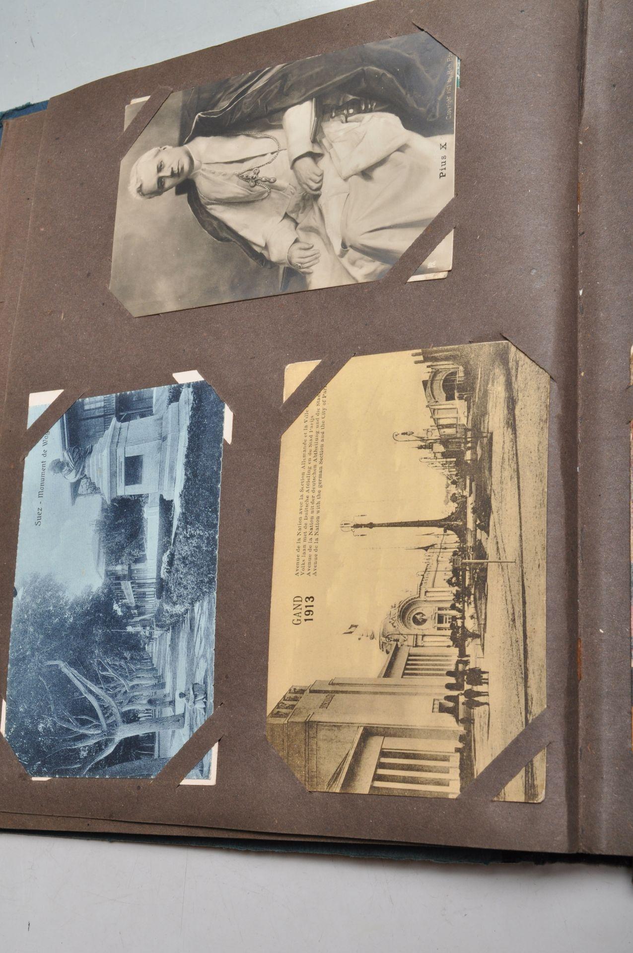 ALBUM OF FOREIGN POSTCARDS - ALL CIRCA WW1 PERIOD - Bild 15 aus 23